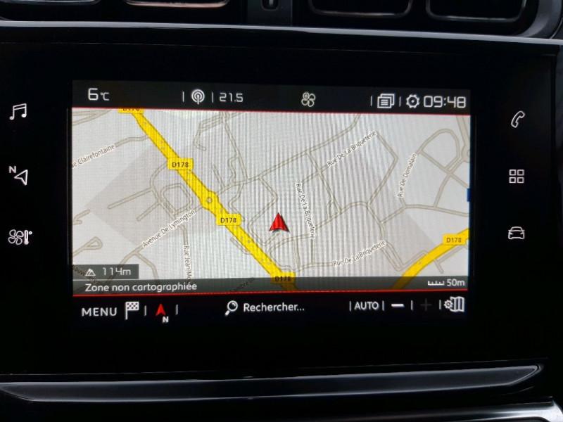 Photo 9 de l'offre de CITROEN C3 PURETECH 110CH SHINE S&S EAT6 à 13490€ chez Carlyss automobiles Vitré