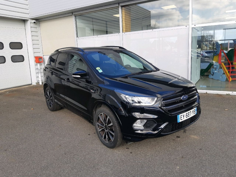 Ford KUGA 2.0 TDCI 150CH STOP&START ST-LINE 4X2 EURO6.2 Diesel NOIR Occasion à vendre