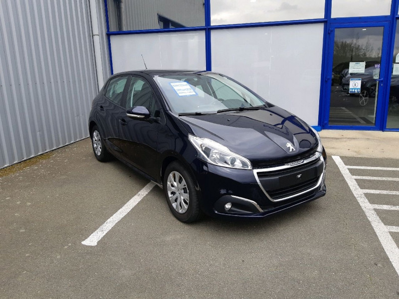 Peugeot 208 1.2 PURETECH 82CH ACTIVE 5P Essence DARK BLUE Occasion à vendre