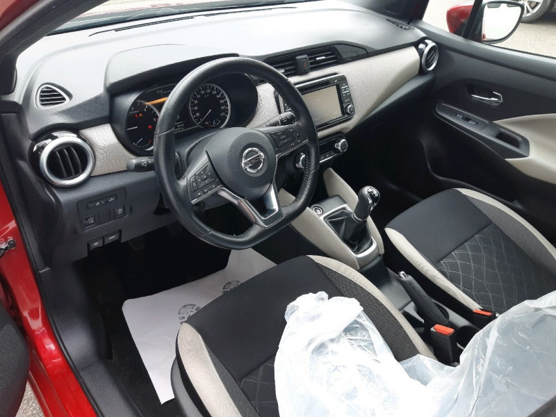 Photo 6 de l'offre de NISSAN MICRA 1.5 DCI 90CH N-CONNECTA à 10490€ chez Carlyss automobiles Vitré