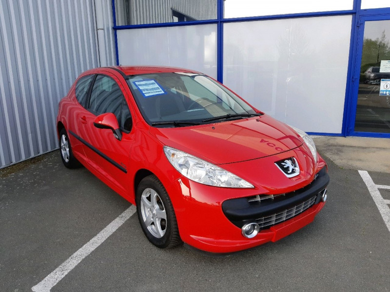 Peugeot 207 1.4 ACTIVE 3P Essence ROUGE Occasion à vendre