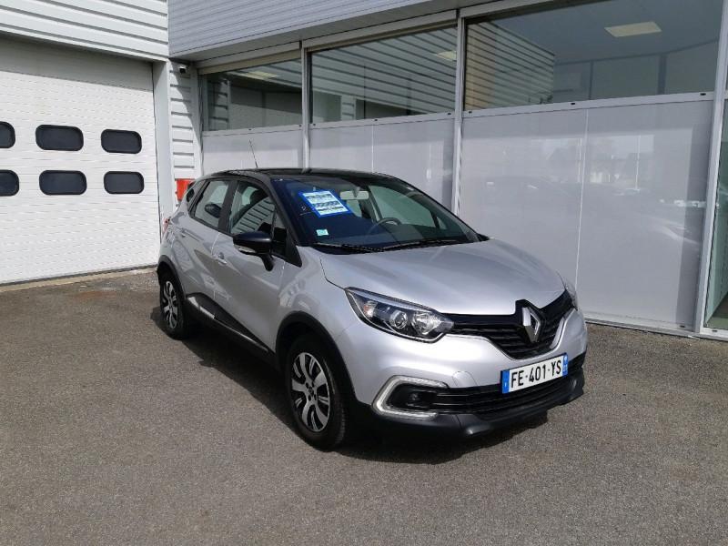 Renault CAPTUR 0.9 TCE 90CH ENERGY BUSINESS EURO6C Essence GRIS PLATINE Occasion à vendre