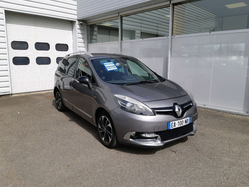 Renault GRAND SCENIC III 1.6 DCI 130CH ENERGY BOSE EURO6 7 PLACES 2015 Diesel GRIS CASSIOPEE Occasion à vendre