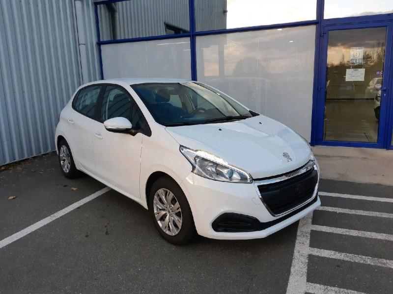 Peugeot 208 1.2 PURETECH 68CH ACTIVE 5P Essence BLANC BANQUISE Occasion à vendre