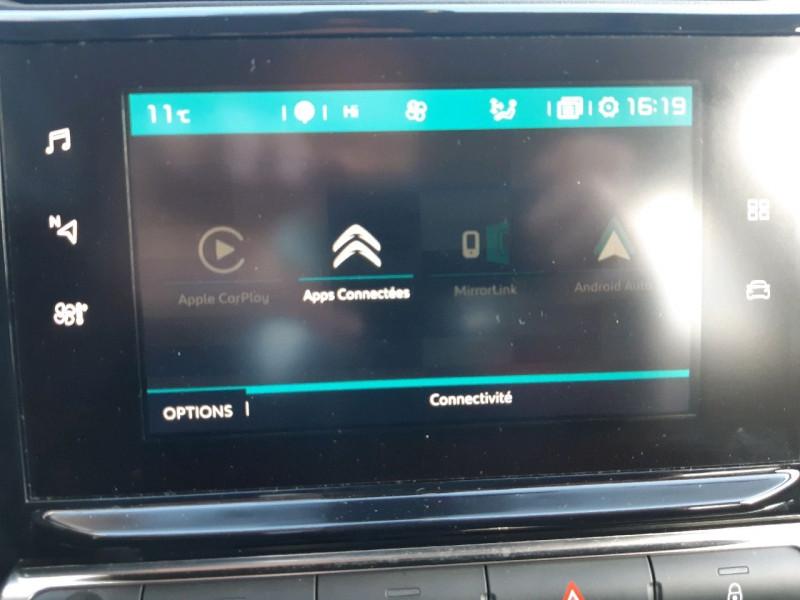 Photo 16 de l'offre de CITROEN C3 BLUEHDI 100CH SHINE S&S E6.D-TEMP à 13990€ chez Carlyss automobiles Vitré