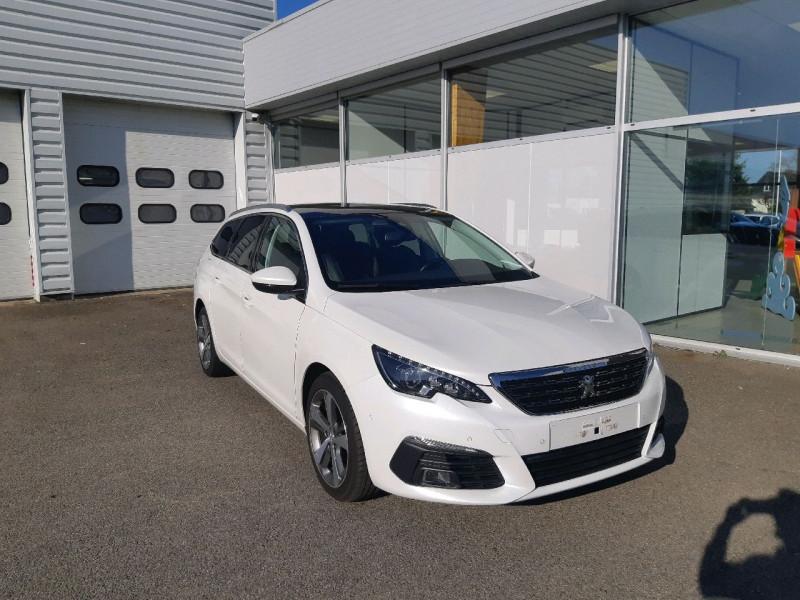 Peugeot 308 SW 2.0 BLUEHDI 150CH FELINE S&S Diesel BLANC Occasion à vendre