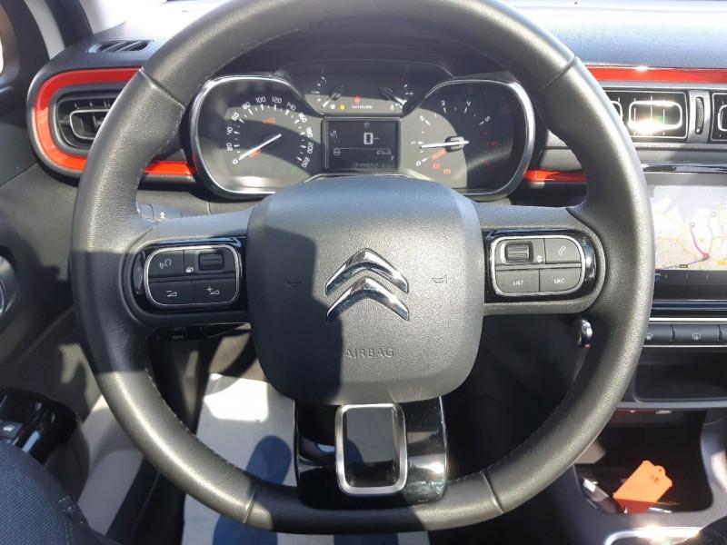 Photo 12 de l'offre de CITROEN C3 BLUEHDI 100CH SHINE S&S E6.D-TEMP à 13990€ chez Carlyss automobiles Vitré