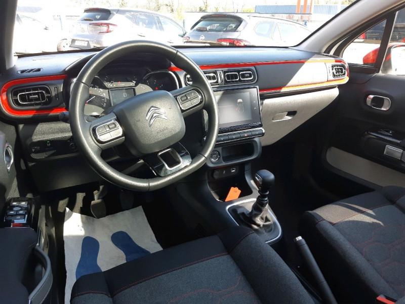 Photo 7 de l'offre de CITROEN C3 BLUEHDI 100CH SHINE S&S E6.D-TEMP à 13990€ chez Carlyss automobiles Vitré