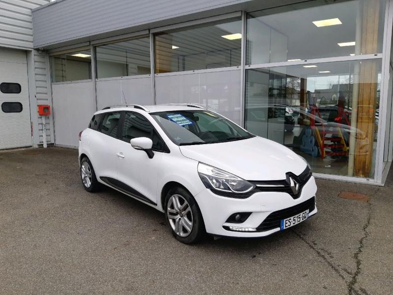 Renault CLIO IV ESTATE 0.9 TCE 90CH ENERGY BUSINESS Essence BLANC Occasion à vendre