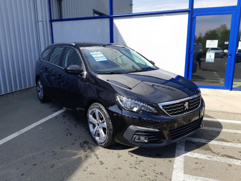 Peugeot 308 SW 2.0 BLUEHDI 150CH S&S ALLURE EAT6 Diesel NOIR PERLA Occasion à vendre