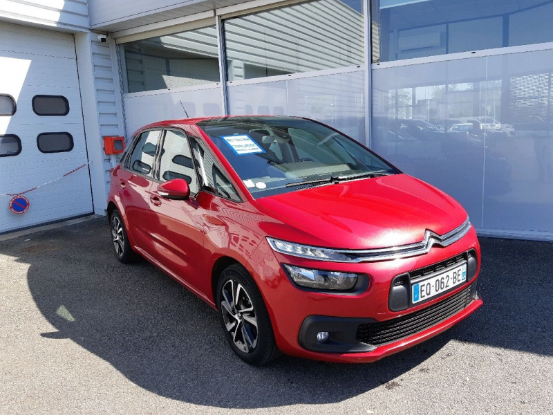 Citroen C4 PICASSO BLUEHDI 120CH BUSINESS S&S EAT6 Diesel ROUGE Occasion à vendre