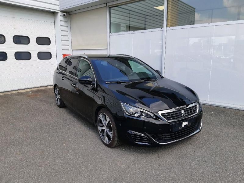 Peugeot 308 SW 2.0 BLUEHDI FAP 180CH GT EAT6 Diesel NOIRE PERLA Occasion à vendre