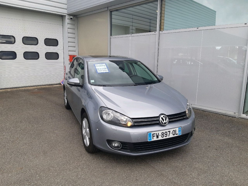 Volkswagen GOLF VI 1.2 TSI 105CH BLUEMOTION TECHNOLOGY Essence GRIS   Occasion à vendre