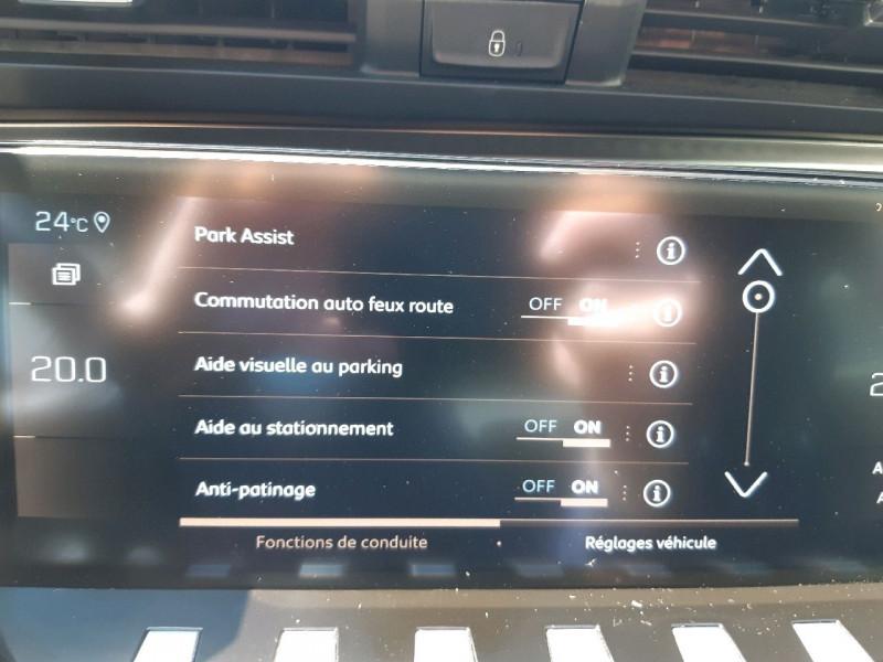 Photo 16 de l'offre de PEUGEOT 508 BLUEHDI 130CH S&S GT LINE EAT8 à 27990€ chez Carlyss automobiles Vitré