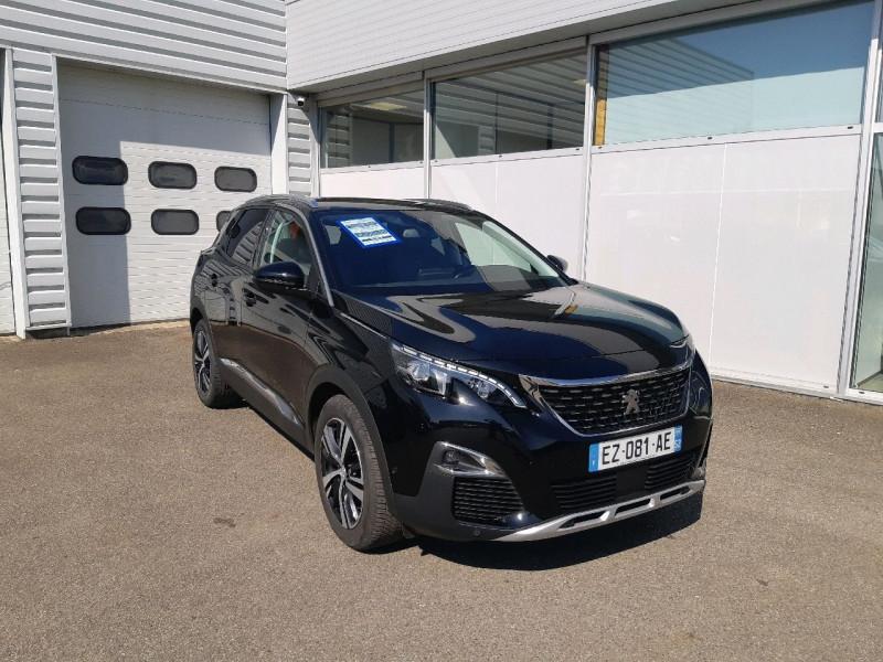 Peugeot 3008 2.0 BLUEHDI 180CH S&S ALLURE BUSINESS EAT8 Diesel NOIR Occasion à vendre