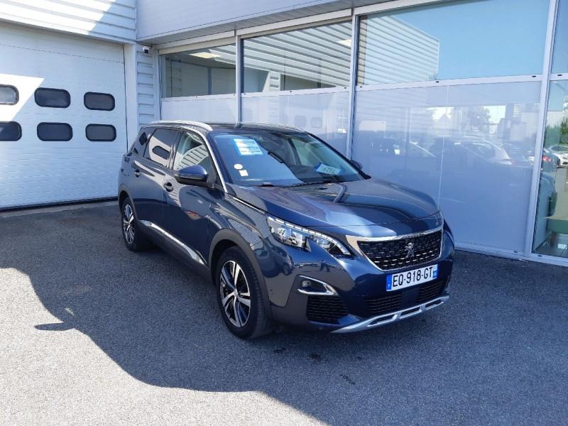 Peugeot 5008 1.6 BLUEHDI 120CH ALLURE BUSINESS S&S Diesel BLEU F Occasion à vendre