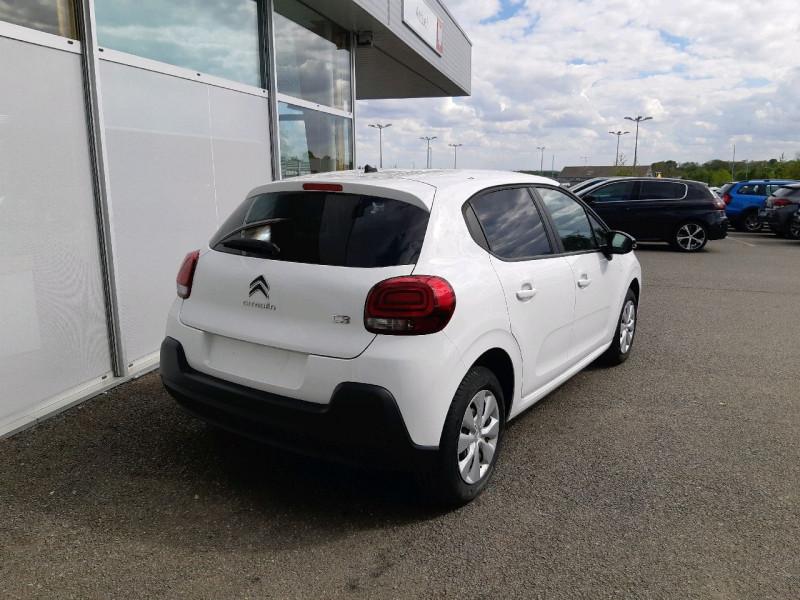 Photo 3 de l'offre de CITROEN C3 BLUEHDI 75CH FEEL S&S à 7990€ chez Carlyss automobiles Vitré