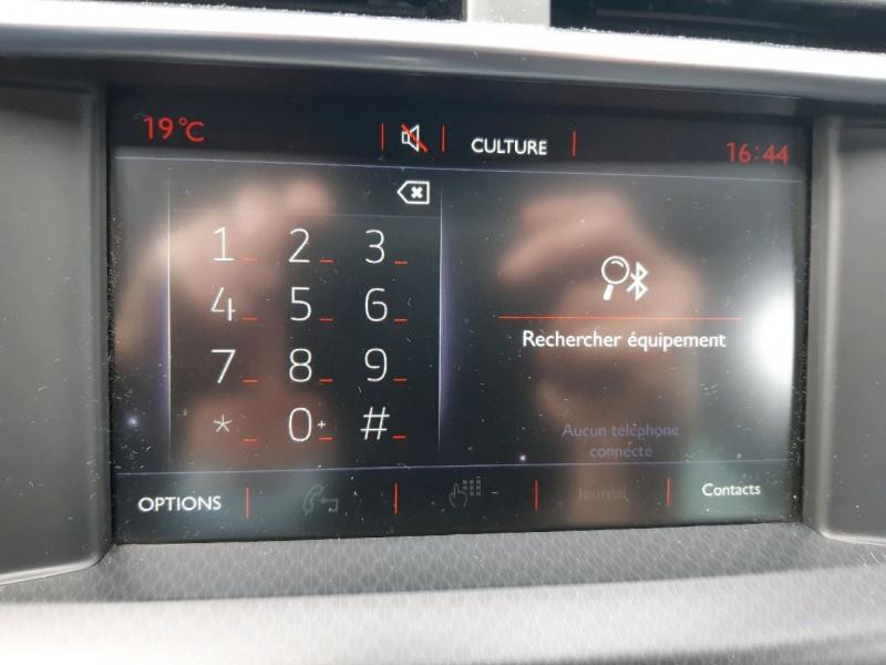 Photo 13 de l'offre de DS DS 4 CROSSBACK BLUEHDI 180 EXECUTIVE S&S EAT6 à 14990€ chez Carlyss automobiles Vitré