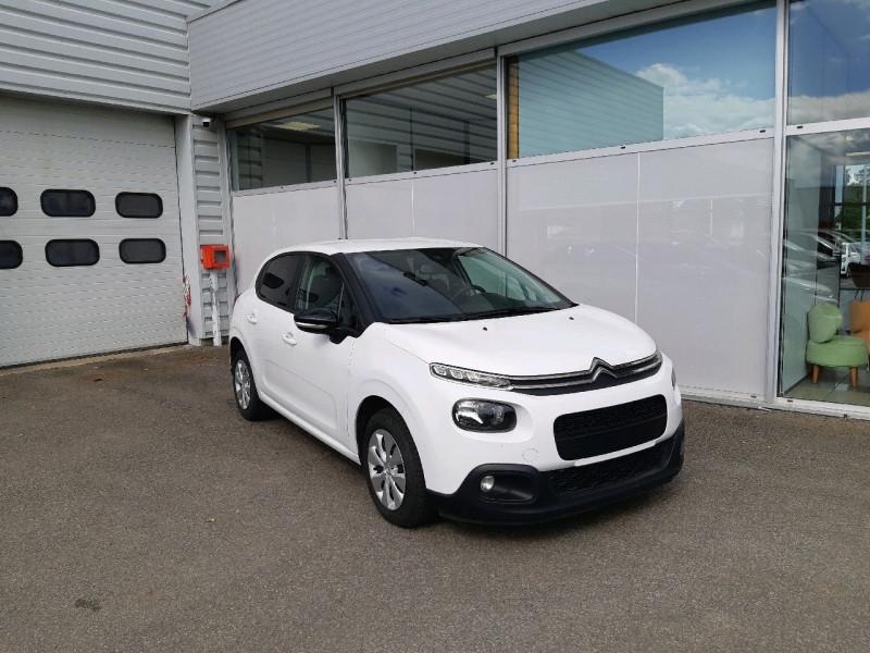 Photo 1 de l'offre de CITROEN C3 BLUEHDI 75CH FEEL S&S à 7990€ chez Carlyss automobiles Vitré