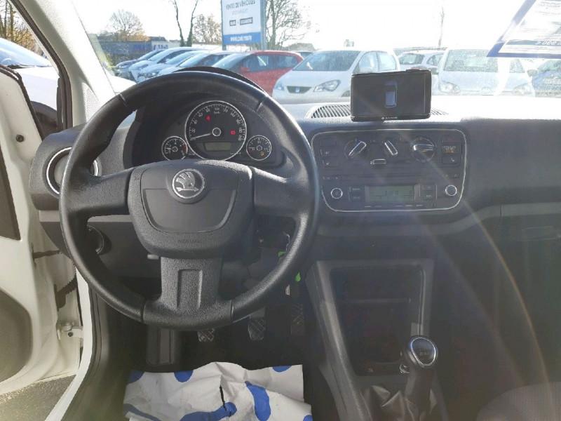 Photo 6 de l'offre de SKODA CITIGO 1.0 MPI 75CH ELEGANCE 3P à 6390€ chez Carlyss automobiles Vitré