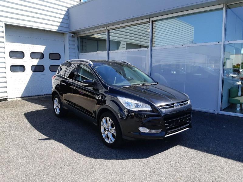 Ford KUGA 2.0 TDCI 140CH FAP TITANIUM 4X4 Diesel NOIR Occasion à vendre