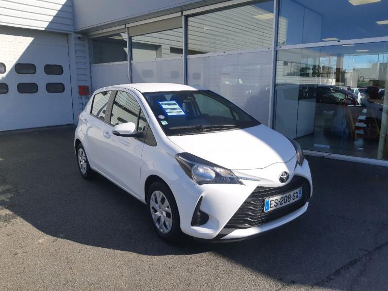 Photo 1 de l'offre de TOYOTA YARIS 69 VVT-I FRANCE 5P à 9490€ chez Carlyss automobiles Vitré