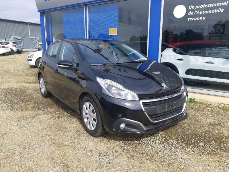 Peugeot 208 1.6 BLUEHDI 100CH ACTIVE BUSINESS S&S 5P Diesel NOIR PERLA Occasion à vendre