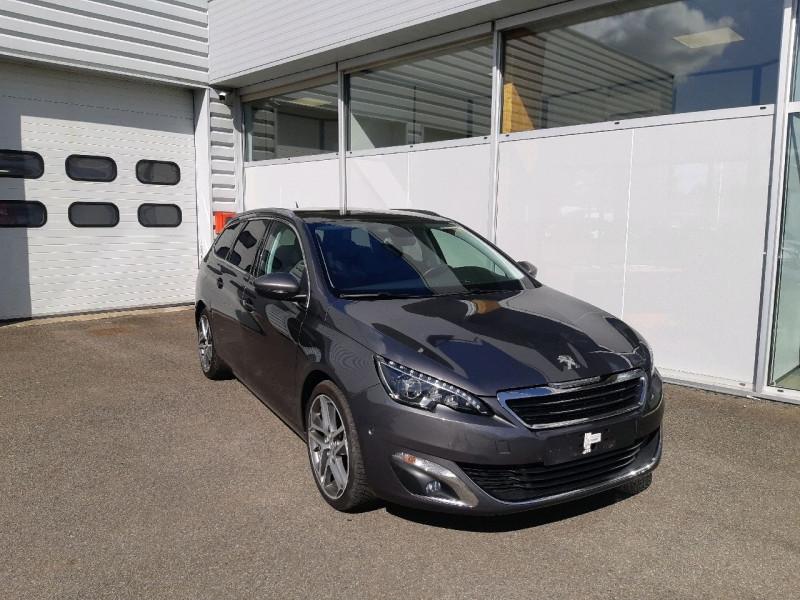 Peugeot 308 SW 2.0 BLUEHDI 150CH ALLURE S&S EAT6 Diesel GRIS PLATINIUM Occasion à vendre
