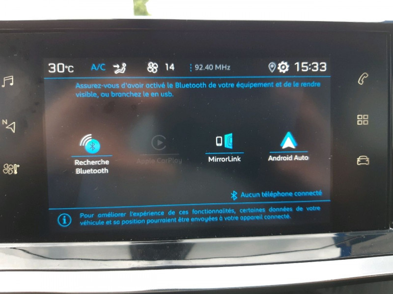 Photo 10 de l'offre de PEUGEOT 2008 1.2 PURETECH 100CH S&S ACTIVE à 19990€ chez Carlyss automobiles Vitré