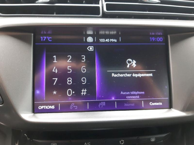 Photo 14 de l'offre de DS DS 3 PURETECH 110CH SPORT CHIC S&S EAT6 à 14990€ chez Carlyss automobiles Vitré