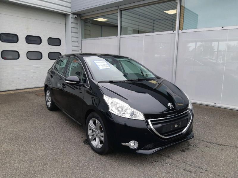 Peugeot 208 1.6 E-HDI115 FAP FELINE 5P Diesel NOIR Occasion à vendre