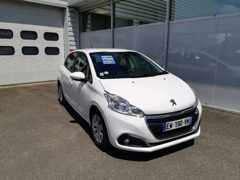 Peugeot 208 AFFAIRE 1.6 BLUEHDI 100CH S&S PREMIUM PACK EURO6C Diesel BLANC Occasion à vendre