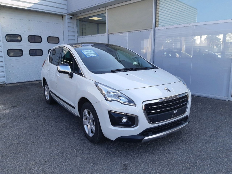 Peugeot 3008 1.6 BLUEHDI 120CH ALLURE S&S Diesel BLANC Occasion à vendre