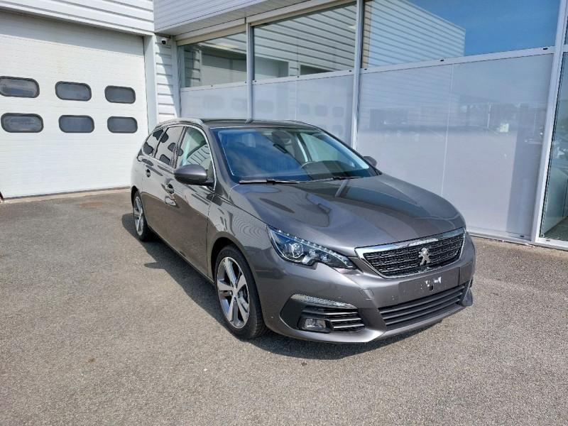 Peugeot 308 SW 1.5 BLUEHDI 130CH S&S ALLURE Diesel GRIS PLATINIUM Occasion à vendre