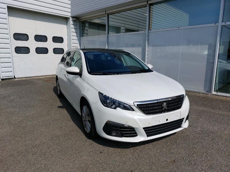 Peugeot 308 SW 1.6 BLUEHDI 120CH S&S ALLURE EAT6 Diesel BLANC NACRE Occasion à vendre