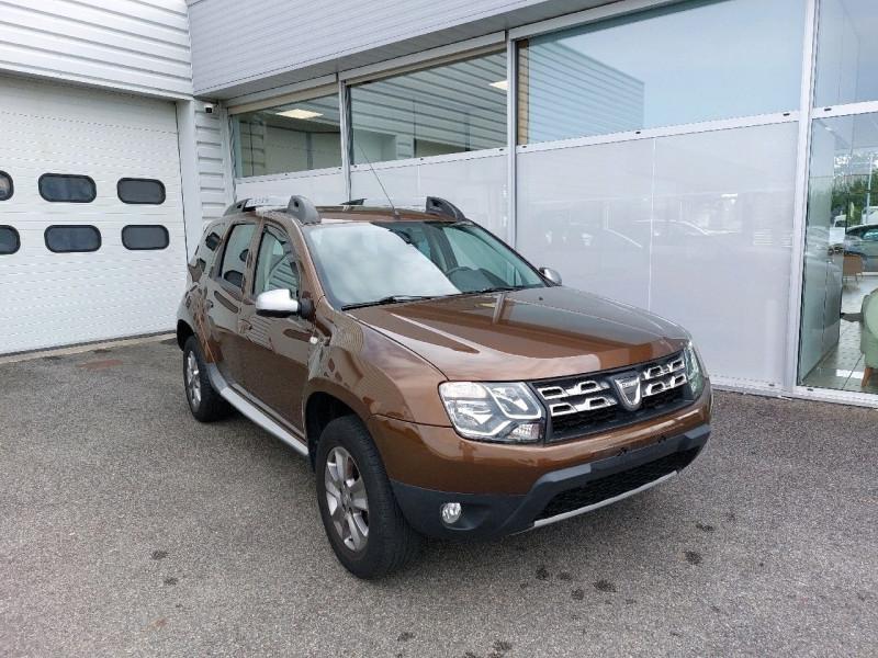 Dacia DUSTER 1.5 DCI 110CH PRESTIGE 4X2 Diesel BRUN   Occasion à vendre