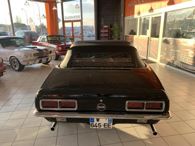 Photo 37 de l'offre de CHEVROLET CAMARO CABRIOLET RS/SS 396CI V8 BIG BLOC à 68000€ chez Centrale auto marché Périgueux