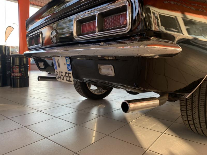 Photo 36 de l'offre de CHEVROLET CAMARO CABRIOLET RS/SS 396CI V8 BIG BLOC à 68000€ chez Centrale auto marché Périgueux