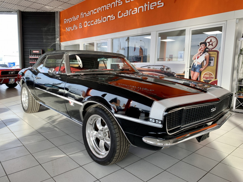 Photo 46 de l'offre de CHEVROLET CAMARO CABRIOLET RS/SS 396CI V8 BIG BLOC à 68000€ chez Centrale auto marché Périgueux