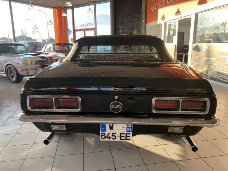 Photo 34 de l'offre de CHEVROLET CAMARO CABRIOLET RS/SS 396CI V8 BIG BLOC à 68000€ chez Centrale auto marché Périgueux