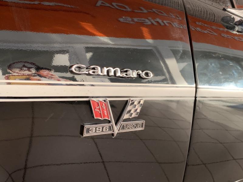 Photo 11 de l'offre de CHEVROLET CAMARO CABRIOLET RS/SS 396CI V8 BIG BLOC à 68000€ chez Centrale auto marché Périgueux