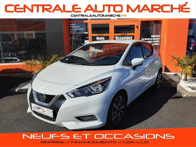 Photo 1 de l'offre de NISSAN MICRA IG-T 90 N-Connecta à 11990€ chez Centrale auto marché Périgueux