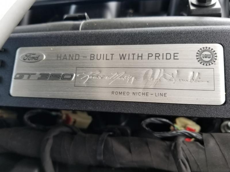 Photo 47 de l'offre de FORD MUSTANG SHELBY GT350 V8 5.2L à 78800€ chez Centrale auto marché Périgueux