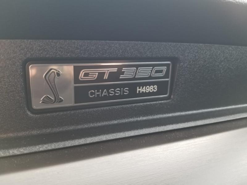 Photo 10 de l'offre de FORD MUSTANG SHELBY GT350 V8 5.2L à 78800€ chez Centrale auto marché Périgueux