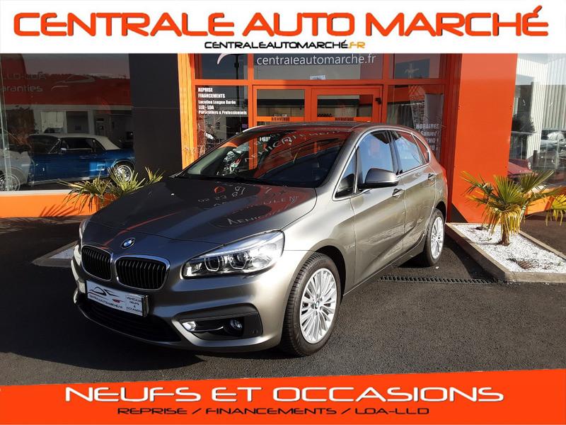 Photo 1 de l'offre de BMW SERIE 2 ACTIVE TOURER 214d 95 ch Luxury à 18490€ chez Centrale auto marché Périgueux