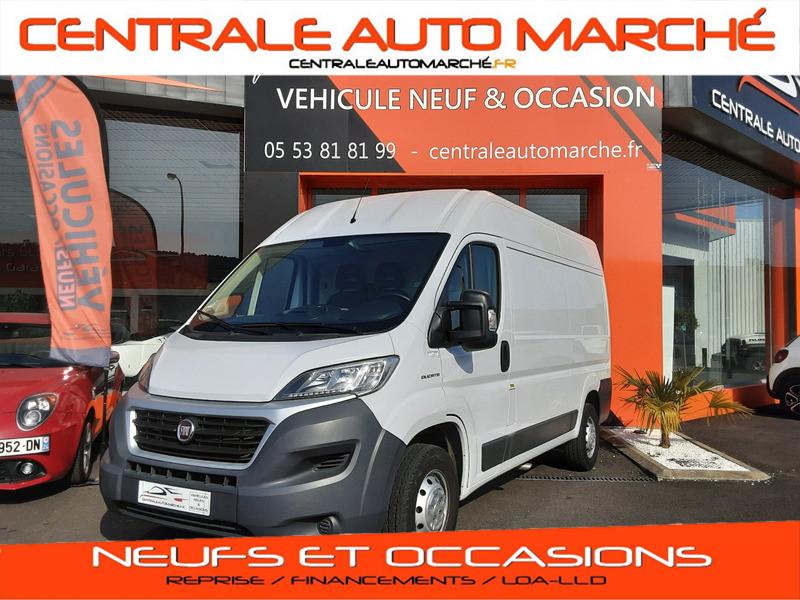 Photo 1 de l'offre de FIAT DUCATO L2H2 2.0 MJT 115 E6 PACK PRO NAV à 17490€ chez Centrale auto marché Périgueux