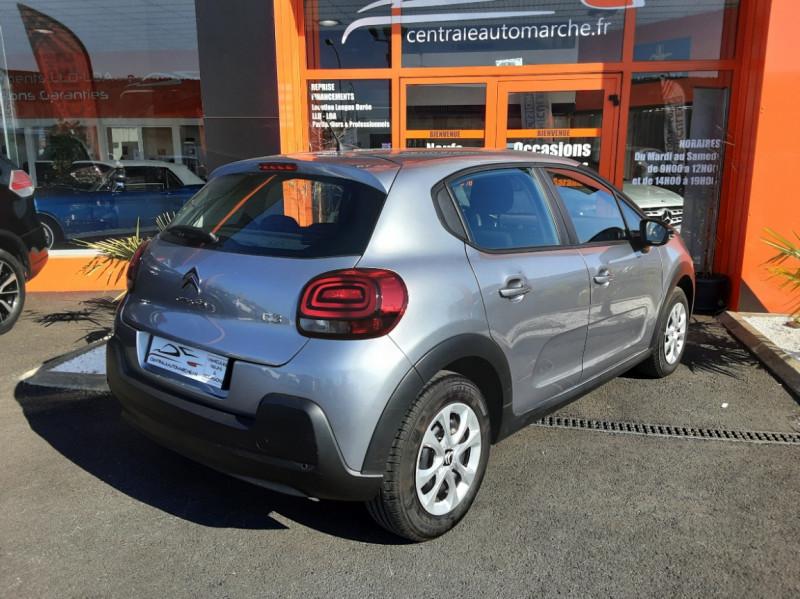 Photo 2 de l'offre de CITROEN C3 PureTech 82 SetS Business à 12890€ chez Centrale auto marché Périgueux