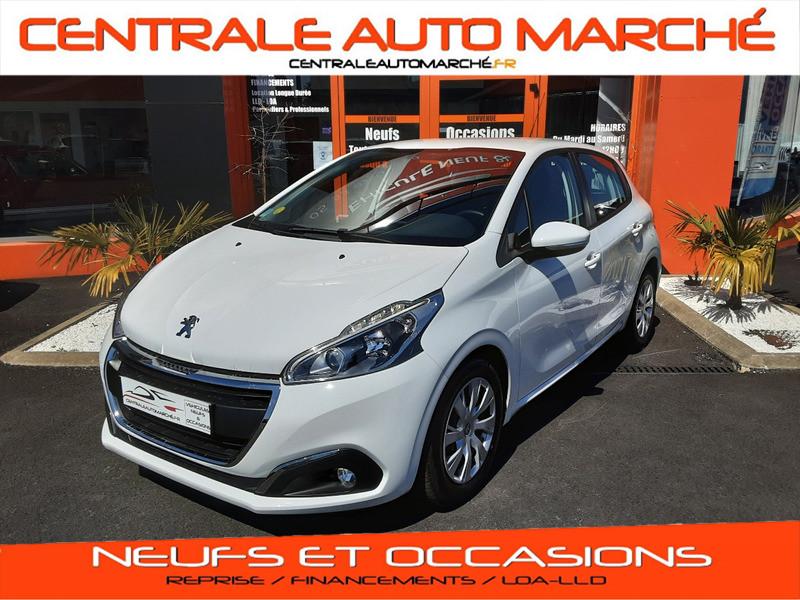 Photo 1 de l'offre de PEUGEOT 208 1.6 BlueHDi 75ch SetS BVM5 Active Business à 11200€ chez Centrale auto marché Périgueux