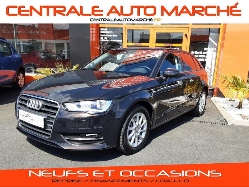 Photo 1 de l'offre de AUDI A3 Sportback 2.0 TDI 150 S tronic 6 Business Line à 20500€ chez Centrale auto marché Périgueux