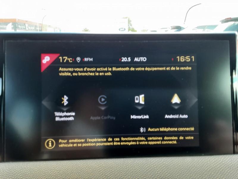 Photo 6 de l'offre de DS DS3 CROSSBACK BlueHDi 100 SetS BVM6 So Chic à 23990€ chez Centrale auto marché Périgueux